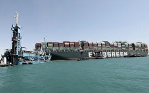 Container Ship Blocking Suez Canal is Partially Floated – Port Authority