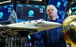 Branson Sells More than $150 Million Stake in Virgin Galactic
