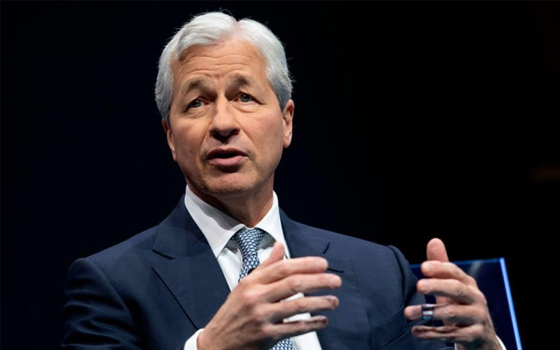 JPMorgan CEO Sees Economic Boom Lasting up to 2023, Shadow Lenders Catching Up