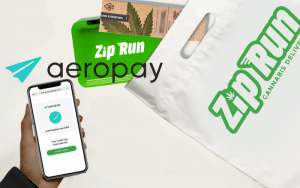 Zip Run Partners with AeroPay for Seamless Cannabis Delivery and Payments